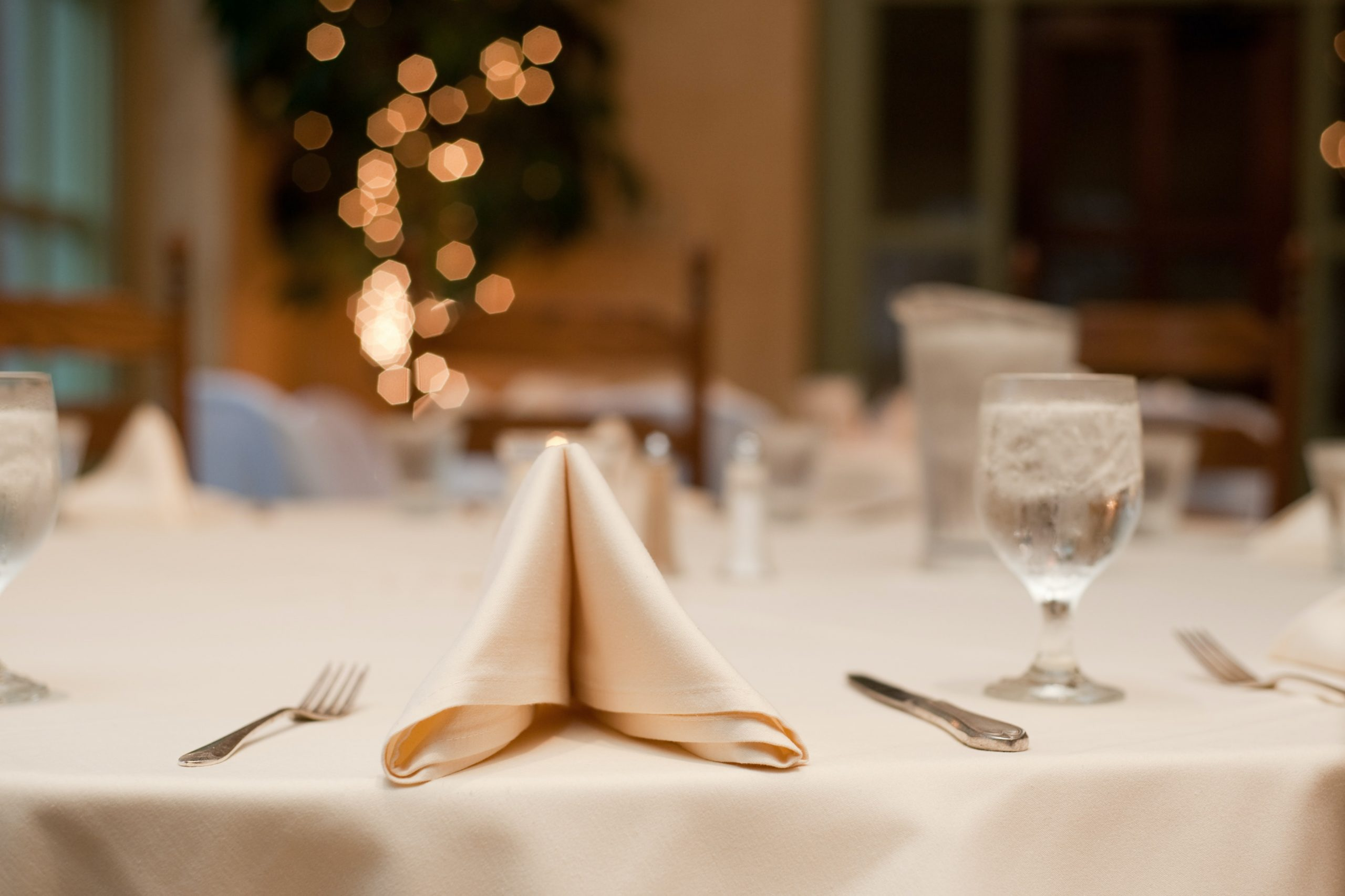 Banquet table set for event on ACECNJ-The-American-Council-of-Engineering-Companies-Awards-Banquet-Page